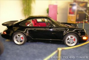 Black Porsche 911 Turbo Picture
