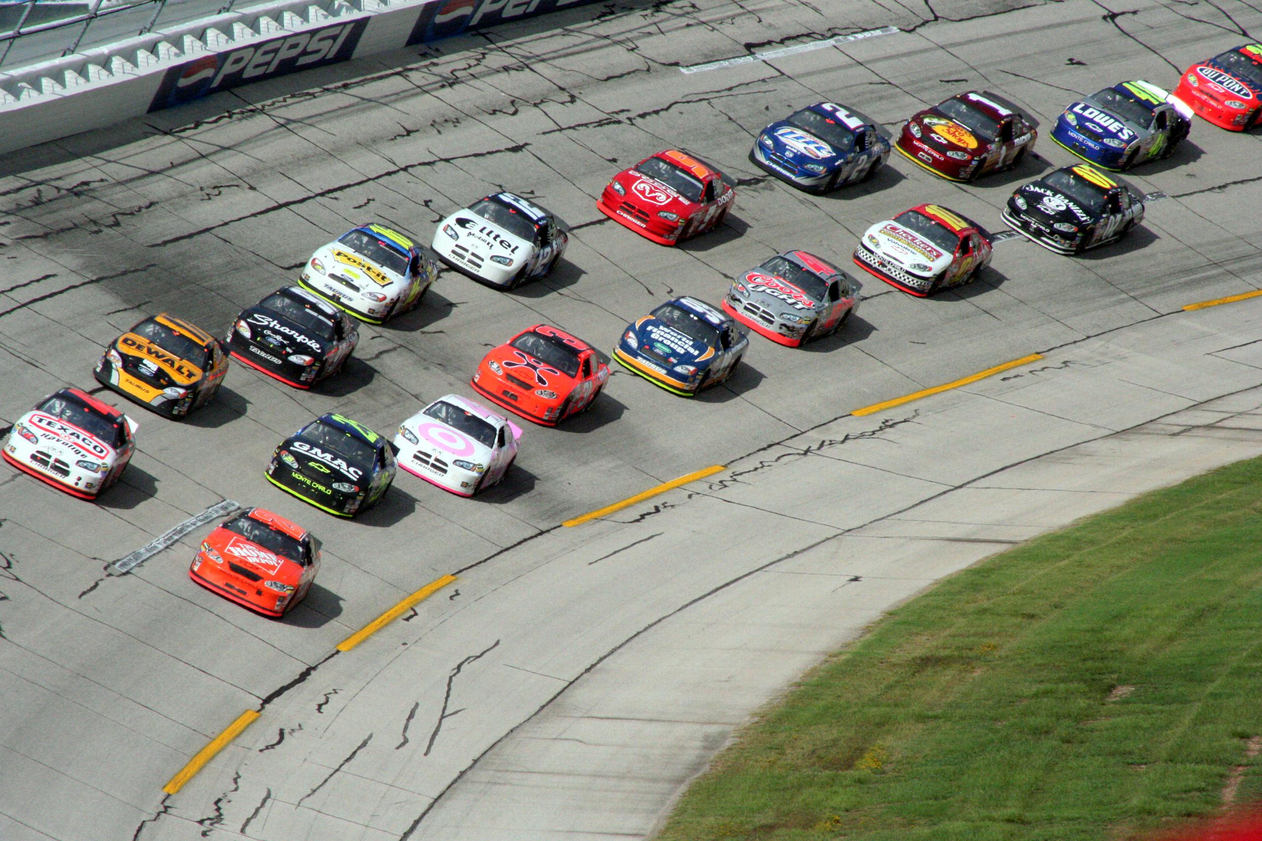 NASCAR Racing Race Car