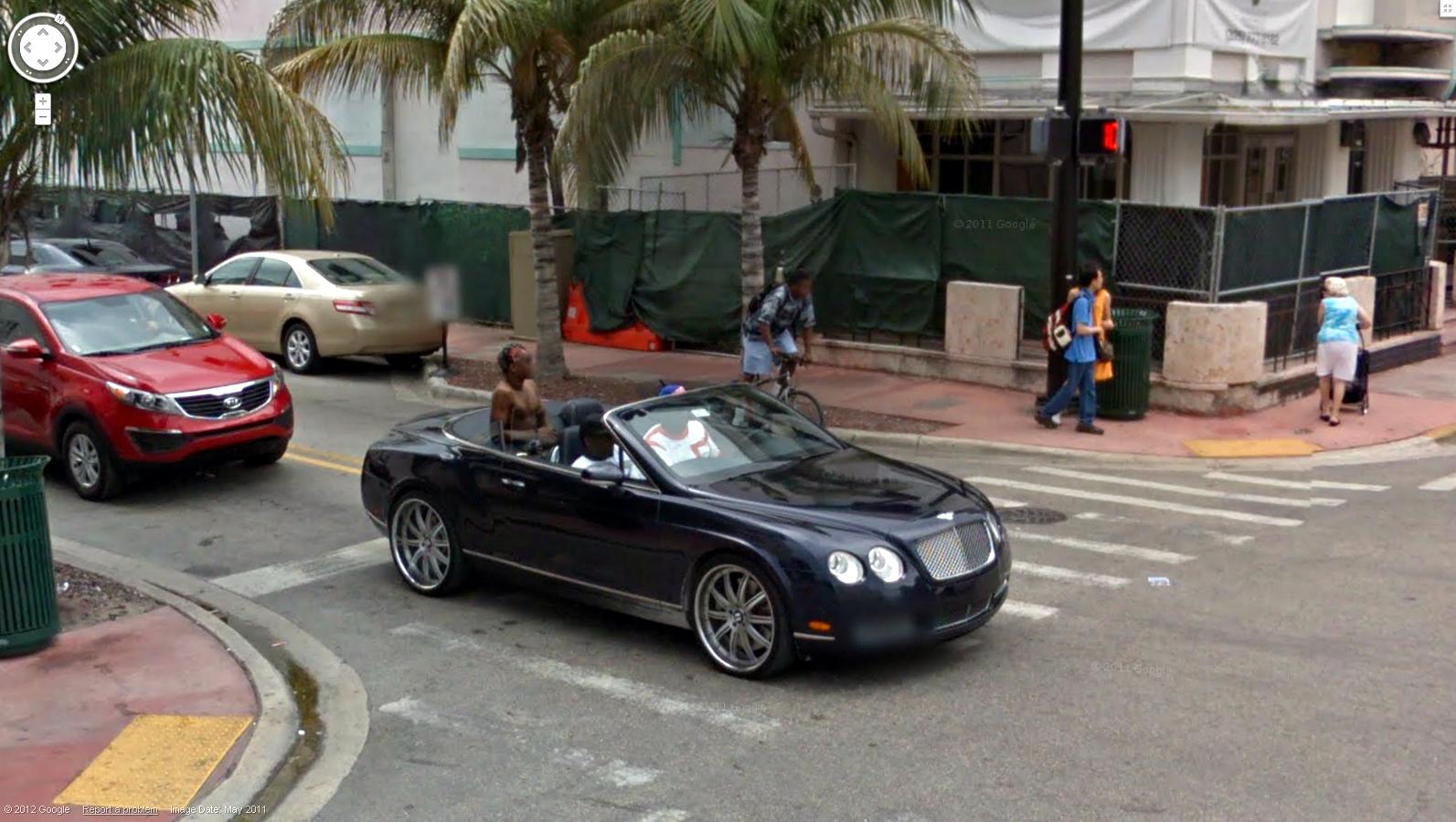 Austin Motorcycle Rental Custom Bentley Continental Picture