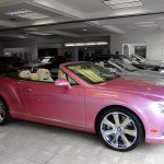 2013 Pink Bentley GTC