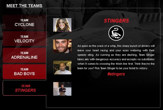 Fiat Team Stingers