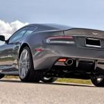 Gray Aston Martin DBS Car