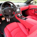 Maserati GranTurismo MC Red Interior