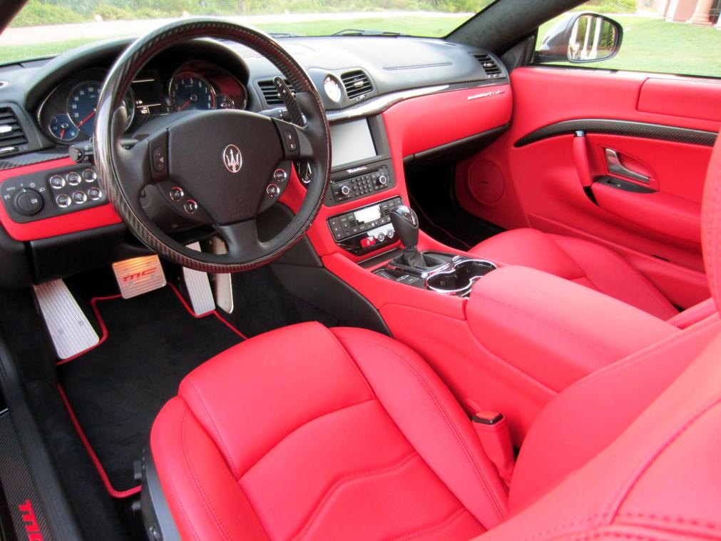 Lottery cars best lottery winner cars zero to 60 times - Maserati granturismo red interior ...