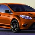 Orange Ford Focus RS