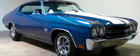 Blue 1970 Chevy Chevelle SS Pictures