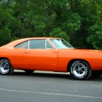 Orange 1969 Dodge Charger RT SE Pictures