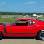 Red 1970 Mustang Bboss 302 Pictures