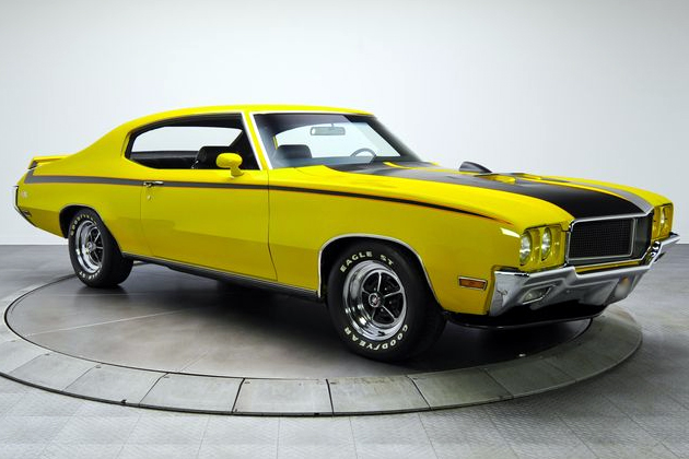 Awesome 1971 Buick GSX With Stage 1 Performance Pack