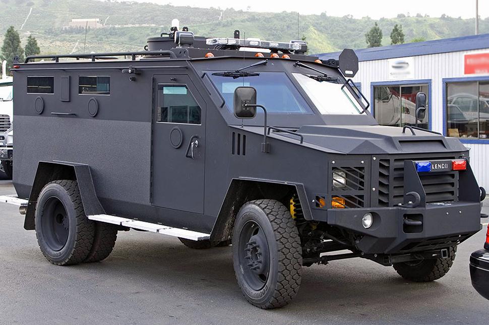 swat team truck