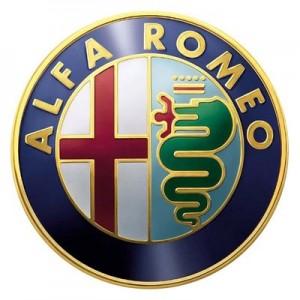Large Alfa Romeo Car Logo