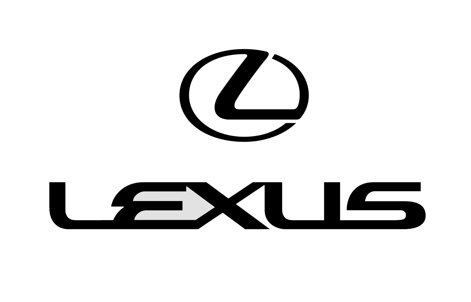 large lexus car logo