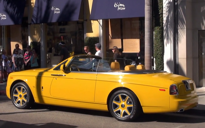 Rolls royce phantom drophead coupe zero to 60 times for Rolls royce of beverly hills
