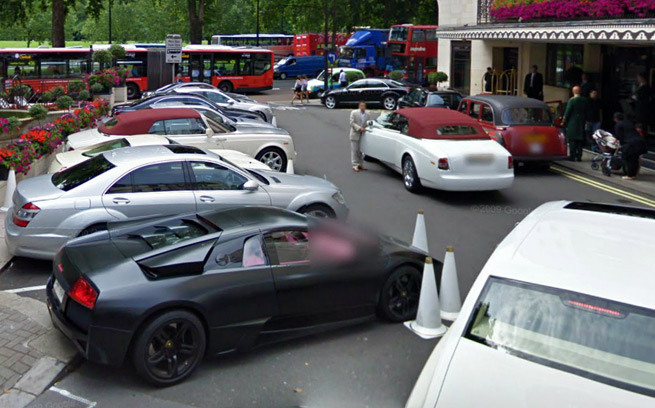 London Exotic Car Sightings On Google Maps Street View Zero To
