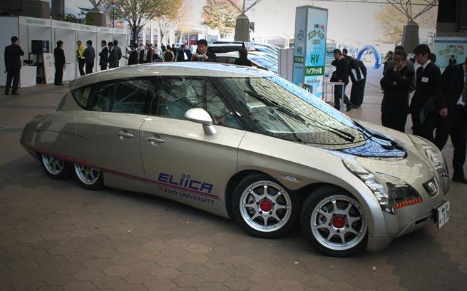 Eliica Electric Supecar Vs Porsche 911 Amp Lancer Evo Zero To 60 Times