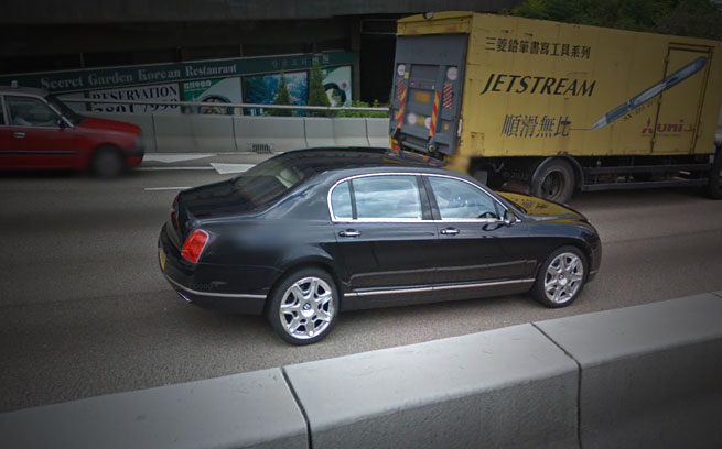 Google Streetview Autos