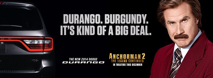 Anchorman Dodge TV Commercials