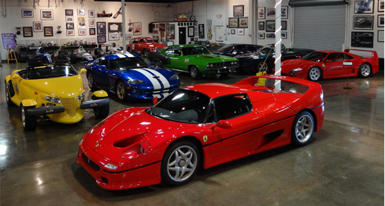 amazing car collection