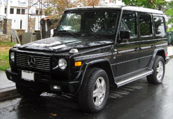 benz g-wagon