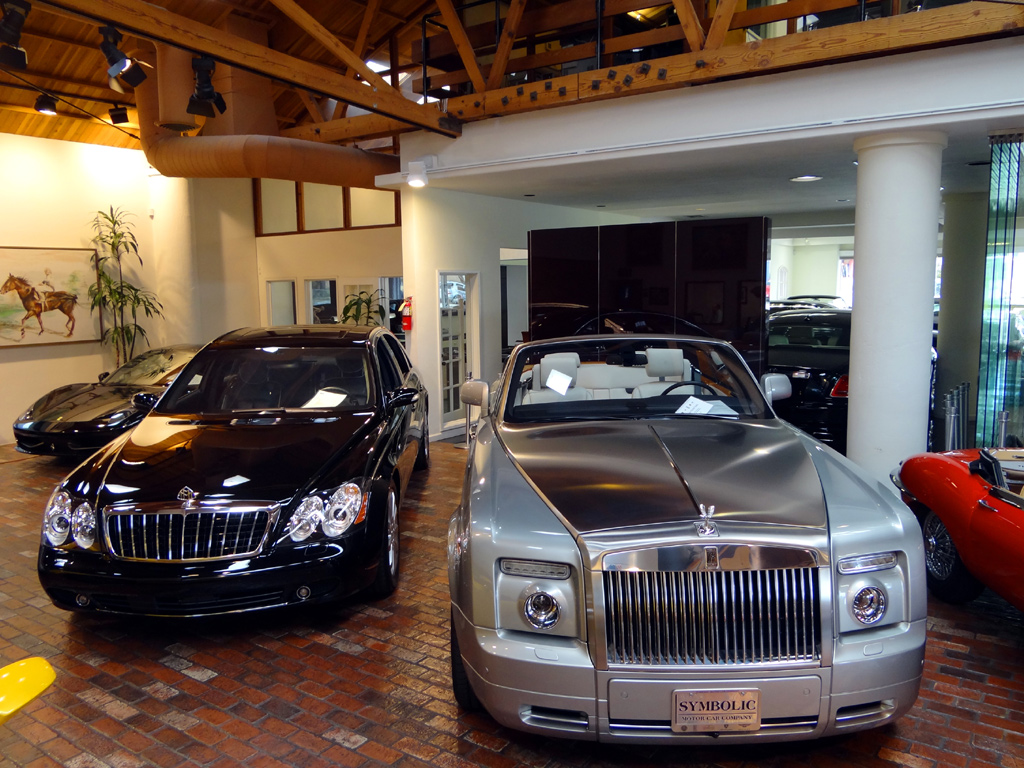 Tour of an Expensive Car Dealership in Southern California ...