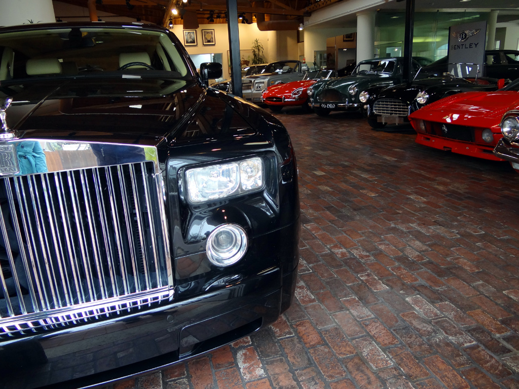 Tour of an expensive car dealership in southern california for Southern motors used cars