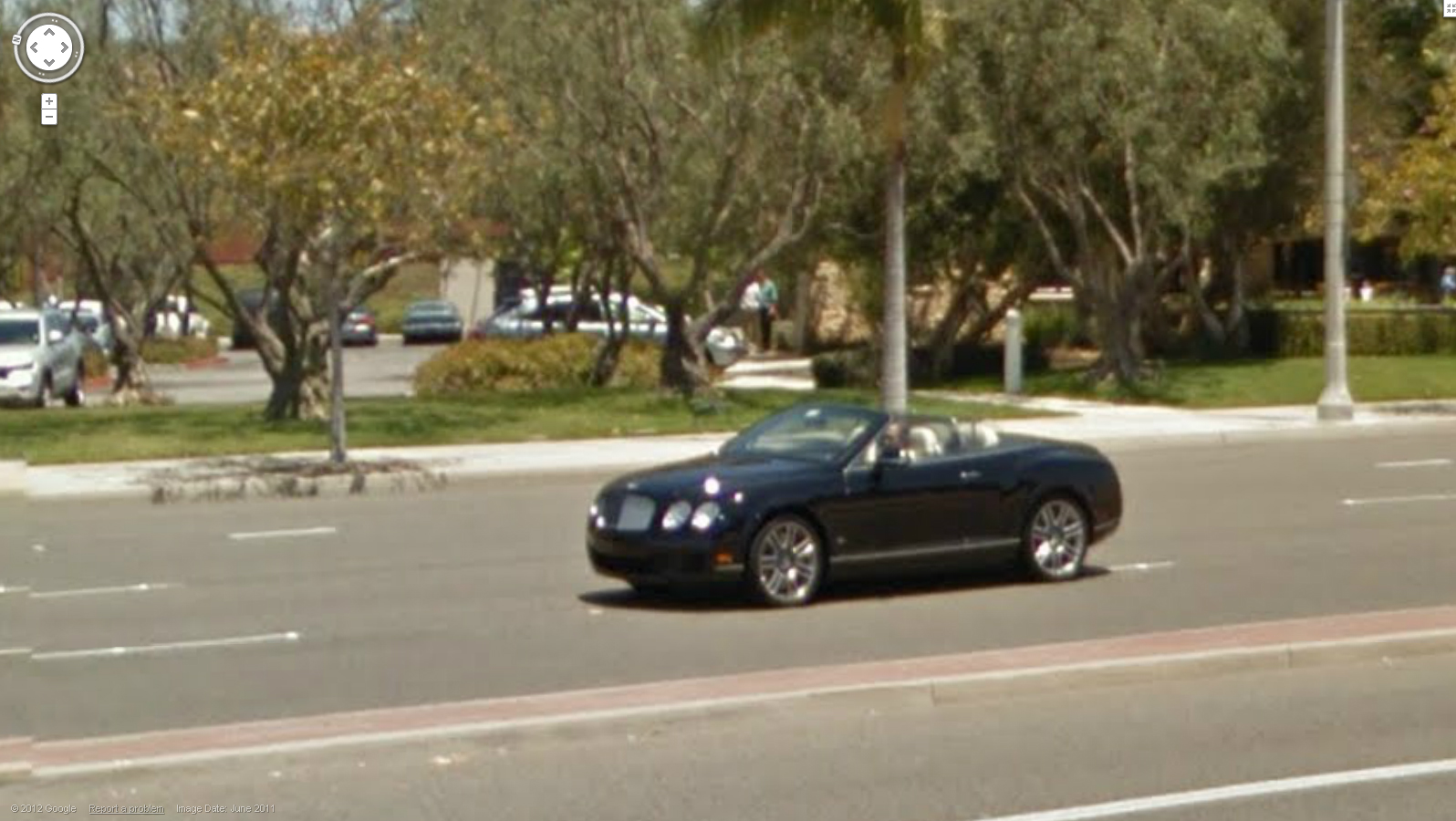 Bugatti Veyron On Google Maps Super Cars
