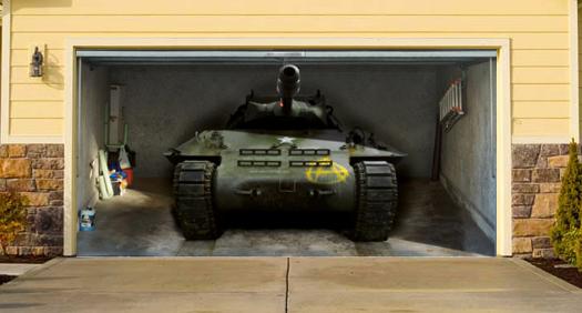Garage Doors Tank Painting