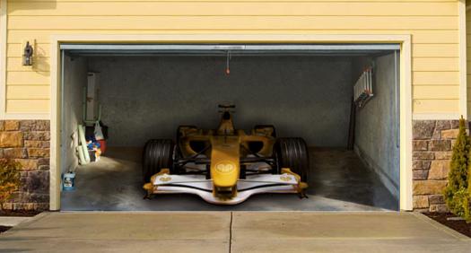 Funny Garage Door : Interesting and funny garage door murals zero to times