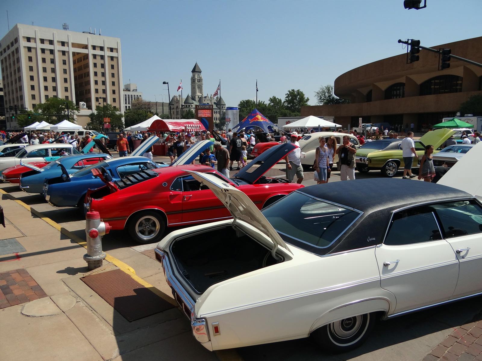 Blacktop Nationals Car Show In Wichita Ks