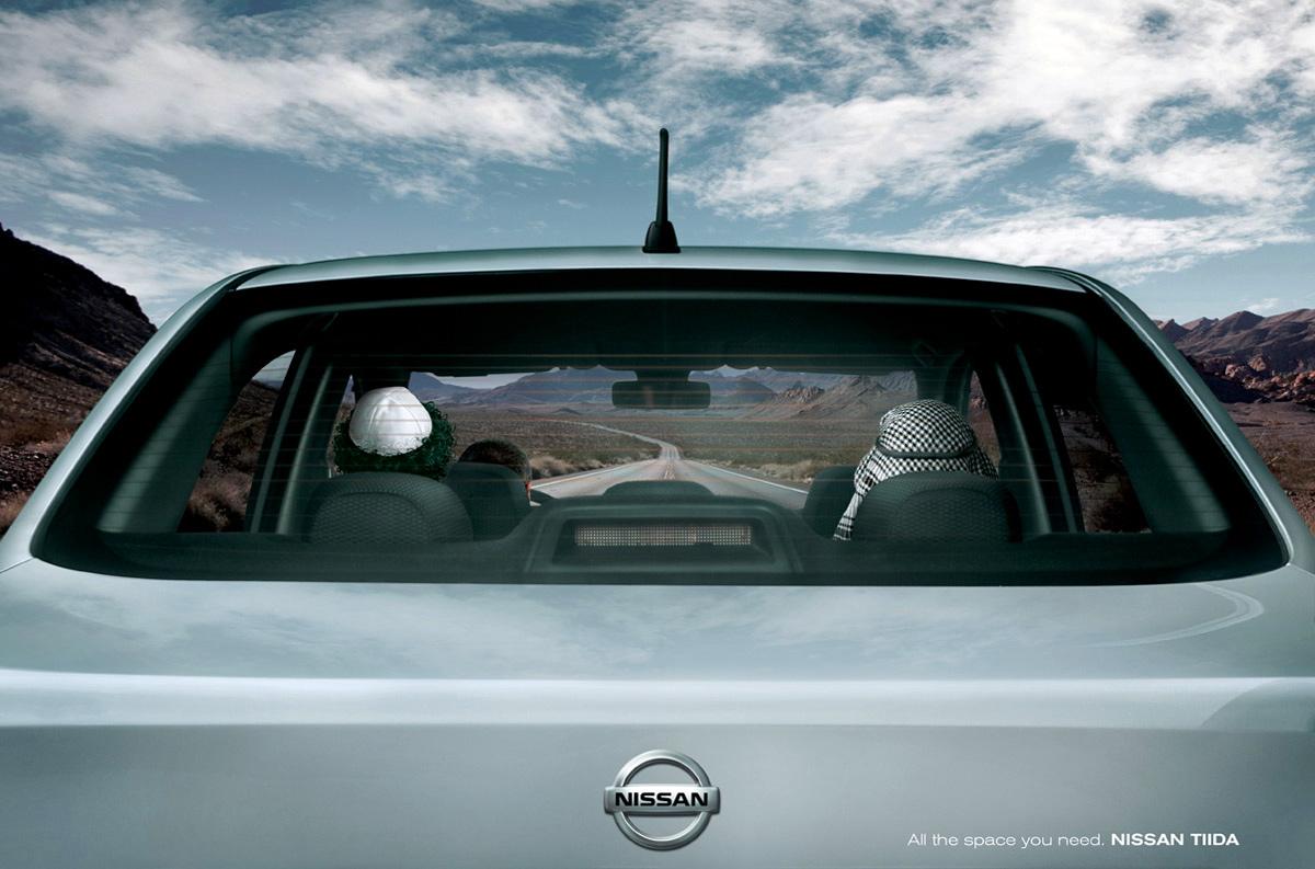 funny car print ads    times