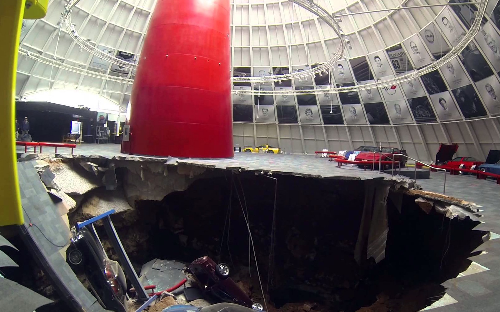 Sinkhole Devours Valuable Cars at the National Corvette ...