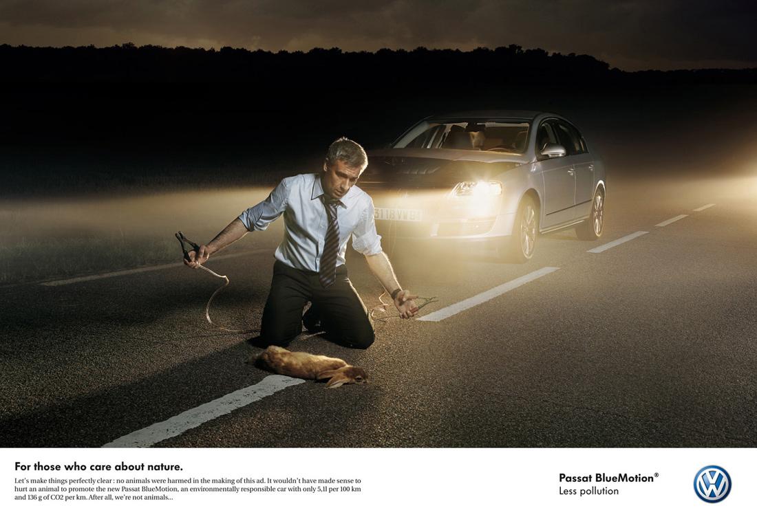 Funny Car Commercials: 25 Funny Car Print Ads
