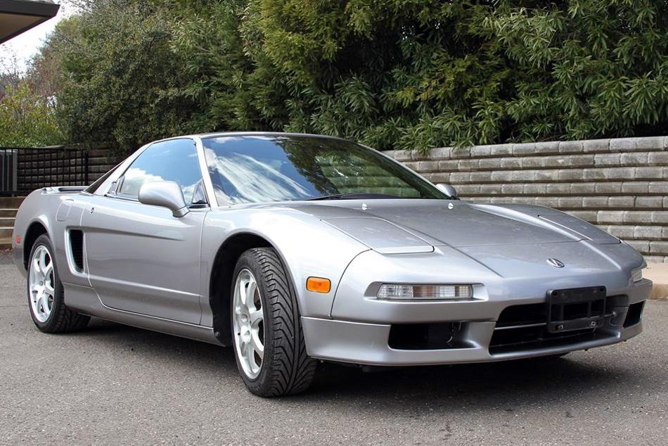 Silver Acura Nsx T
