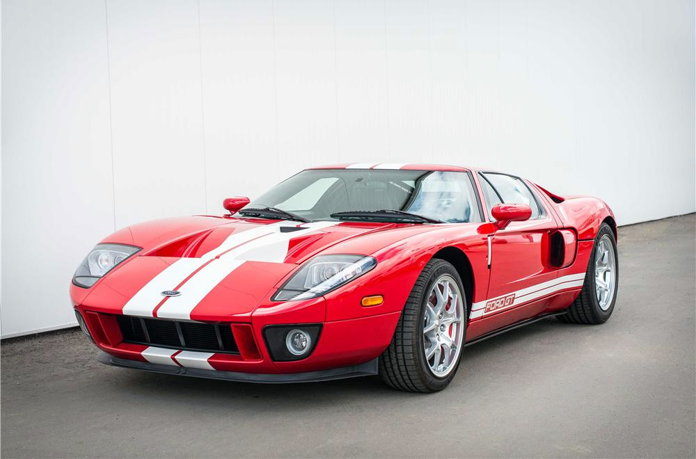 Ford Gt Stripes