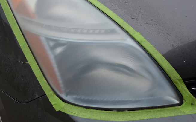 fogged headlights repair