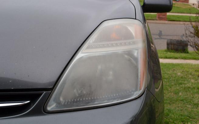 foggy headlights
