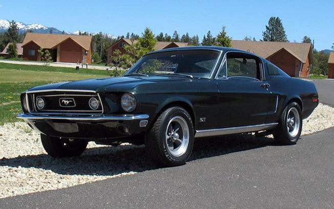 """1968 Mustang GT – """"Bullitt"""""""