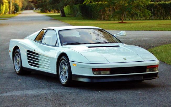 """1986 Ferrari Testarossa """"Miami Vice"""""""
