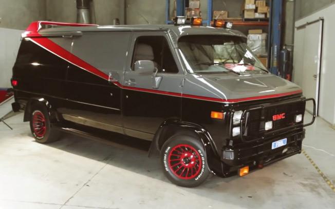 "1983 GMC Vandura ""The A-Team"""