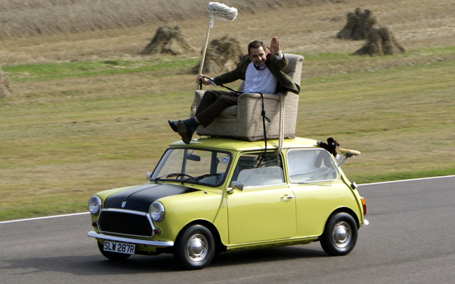Mr Beans Car