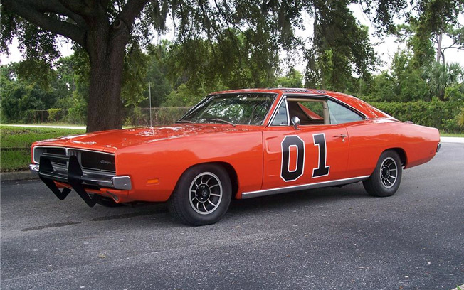 "1969 Dodge Charger – General Lee ""Dukes of Hazzard"""
