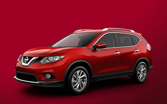 Nissan Rogue - 56.9% female buyers