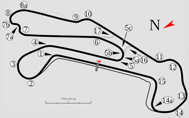 Barber Motorsports Track