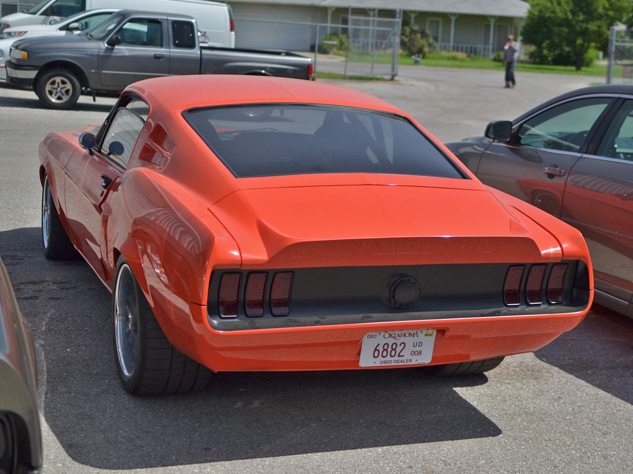 Meet the Villain of CR Supercars   1968 Ford Mustang Villain