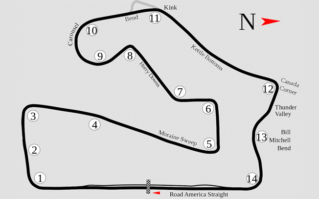 Road America Race Track