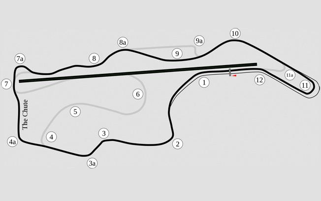 Sonoma Raceway Track