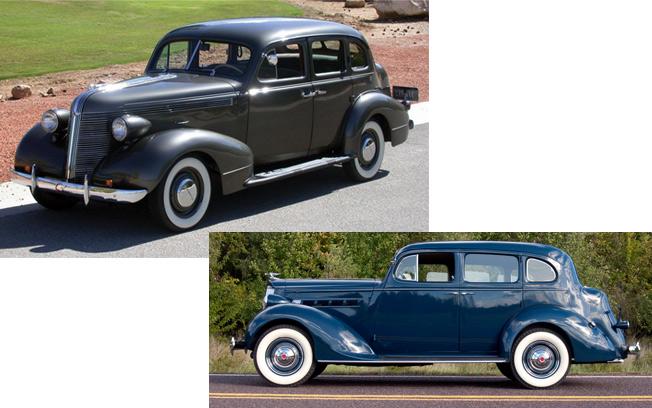 Older Cars That Look Alike