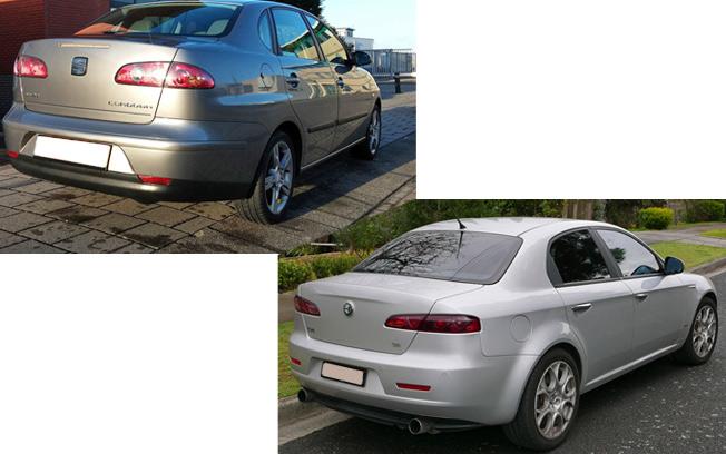 Similar Looking Car Designs