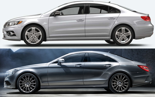 Vw Cc Looks Like Mercedes Benz Cls