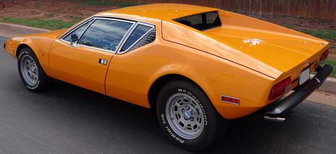 An American supercar with an Italian name and a gigantic Ford V8 stuffed in the middle. And sold at Mercury dealerships. Makes about as much sense as the ... & The Grooviest Cars of the 1970s - Zero To 60 Times markmcfarlin.com